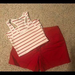 Size 10 Red Limited shorts!